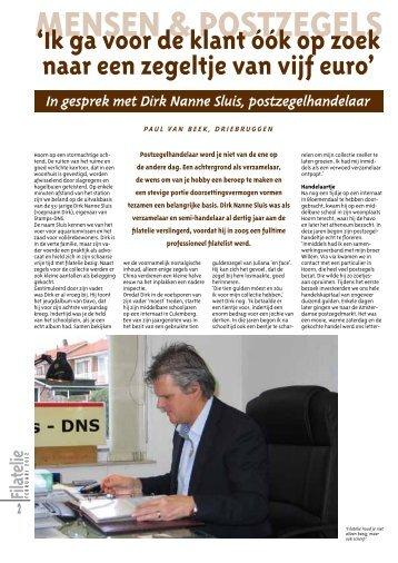MENSEN & POSTZEGELS - Stamps-DNS
