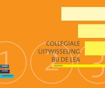 collegiale uitwisseling bij de lea - Lokale Educatieve Agenda