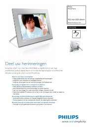 10FF3CME/00 Philips PhotoFrame - Opus