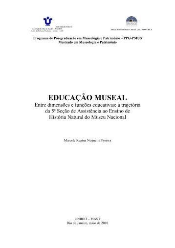 Marcele Regina Nogueira Pereira - Unirio