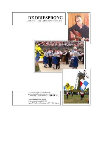 De Driesprong, editie september-oktober 2008 - Vvkb