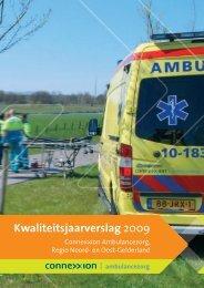 jaarverslag 2009 - Connexxion Ambulance
