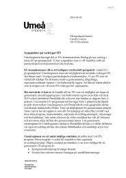 Synpunkter på verktyget ITI - Örnsköldsviks kommun