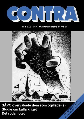 Nummer 1 2003 - Contra