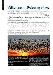 Rejsemagasinet for 2013 - Foreningen Norden