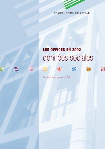 """donn""""es sociales - Fédération nationale des offices publics de l'habitat"""