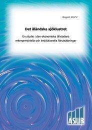 2007:2 Det åländska sjöklustret - ÅSUB
