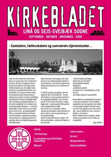 LINÅ OG SEJS-SVEJBÆK SOGNE - Linå kirke