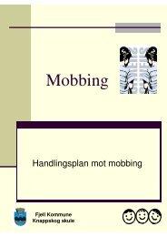 Knappskog skule sin handlingsplan mot mobbing - Fjell kommune