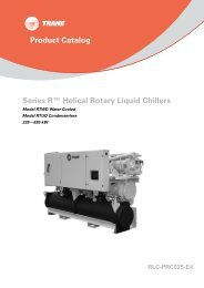 Product Catalog - HVAC Systems & Solutions for Engineers - Trane