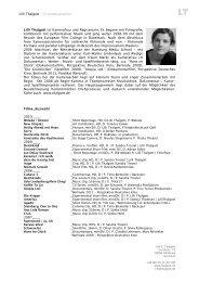 Die Vita als .pdf herunterladen - lilli thalgott | kamera
