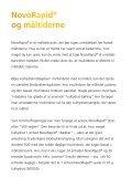 Patientvejledning NovoRapid® (insulin aspart) - Novo Nordisk - Page 4