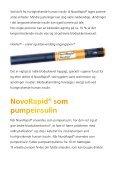 Patientvejledning NovoRapid® (insulin aspart) - Novo Nordisk - Page 6