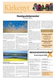 Høstgudstjenester - Rorup & Glim kirkers hjemmeside