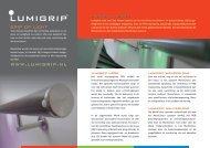 Brochure 'Grip op Licht' - Lumigrip