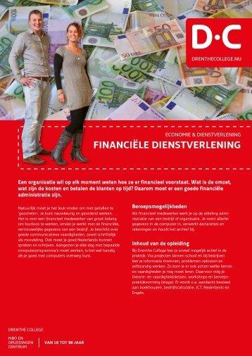 financiële dienstverlening - Drenthe College