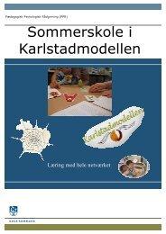 Invitation til Sommerskole udgave 4 - Karlstadmodellen