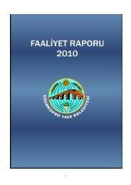 2010 faaliyet raporu - Uzunköprü Belediyesi