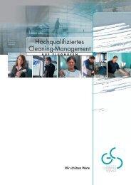 finden Sie die aktuelle GCS-Broschüre zum ... - Cleaning Service