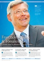 Framtidens Bank & Försäkring - Svensk Försäkring