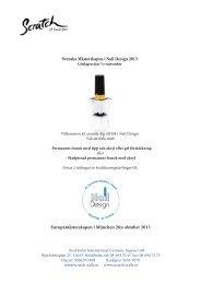 Länk till PDF-fil med mer info om SM 2013 - Scratch of Sweden