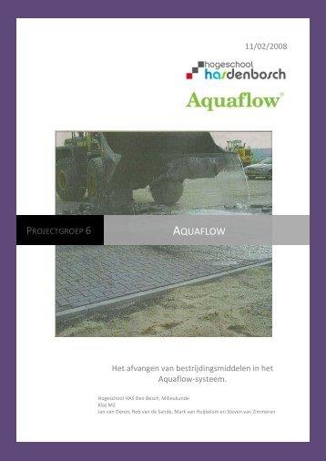 Download het rapport van de HAS Den Bosch - Aquaflow