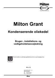 Generel information - Milton