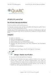 Erstes Kennenlernen von ATLAS.ti - Die Benutzeroberfläche ATLASti