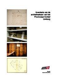 Inventaris van de Archieven - Provincie Limburg