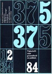 Tijdschrift Gezondheid en Politiek jaargang 1984 nr 2