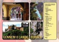 GENNEM 8 LANDE I EUROPA - Bargemon