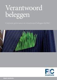 Brochure Verantwoord Beleggen - Stichting Pensioenfonds Werk en ...