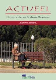 Actueel - Informatieblad Jaargang 9,1 - Vlaamse Ouderenraad