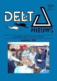 augustus 2001 - Delta Duikteam