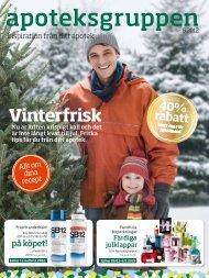 Läs Apoteksgruppen, Inspiration från ditt apotek nummer 5 2012