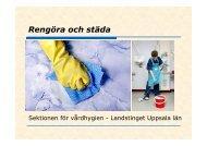 Rengöring och städa