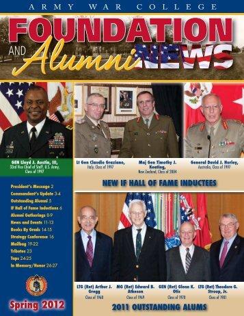 Spring 2012 Magazine Alumni Edition - may take a - Usawc.org