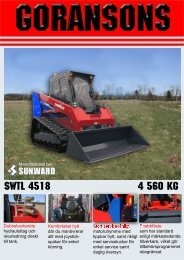 SWTL 4518 4 560 KG - Goransons