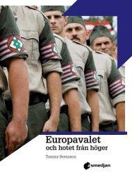 Europavalet, hotet WEBB - Arbetarrörelsens tankesmedja