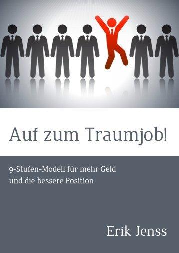 Der Weg zum Traumjob - Erik Jenss - Coaching und Consulting
