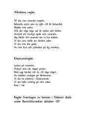 Skolans regler..pdf - Odensvi skola
