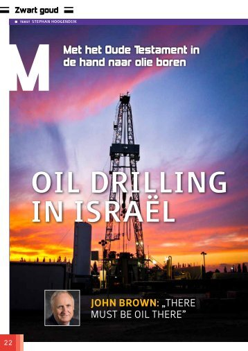 Olie in Israel - Weet Magazine