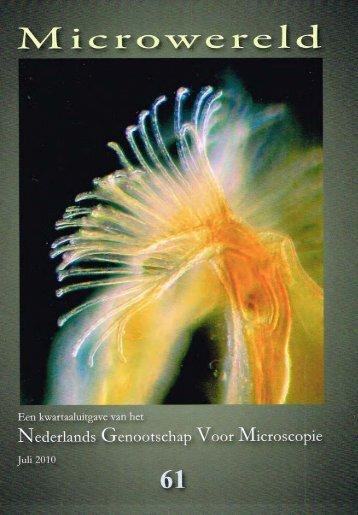 De maretak - Nederlands Genootschap voor Microscopie