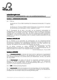 subsidiereglement participatie kansengroepen ... - Stad Roeselare