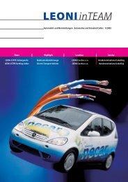 inTEAM - LEONI Business Unit Electrical Appliance Cables