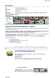 Nieuwsbrief Centrummanagement - februari ... - Centrum Genk