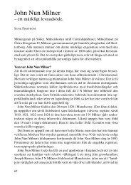 John Nun Milner - Föreningen Gamla Christianstad