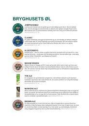 Klik her for at se hele udvalget af øl - Søgaards Bryghus