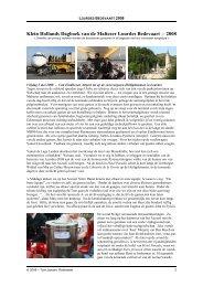 Klein Hollands Dagboek van de Maltezer Lourdes Bedevaart – 2008