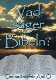 Vad säger Bibeln HEL